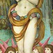 Venus Art Print by John Roddam Spencer Stanhope