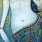 Venus With Doves Art Print