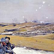 Verdun, 1916 Oil On Canvas Art Print