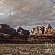 Vermilion Cliffs  Art Print