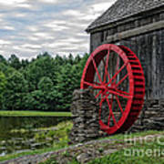 Vermont Grist Mill Art Print