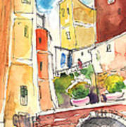 Vernazza In Italy 02 Art Print