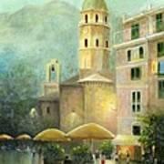 Vernazza Italy Art Print by Cecilia Brendel