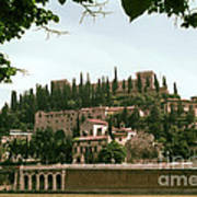 Verona On The Adige Art Print