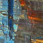 Vertical Dominance In Horizontal Sea Art Print