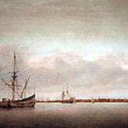 Verwer's View Of Hoorn Art Print