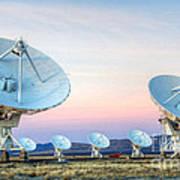 Very Large Array Of Radio Telescopes 1 Art Print