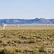 Very Large Array Art Print