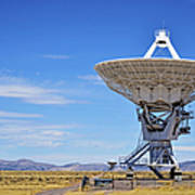 Very Large Array - Vla - Radio Telescopes Art Print by Christine Till