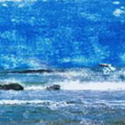 Vesterhavet The North Sea Art Print