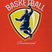 Veteran's Day Basketball Tournament Poster Art Print by Aloysius Patrimonio