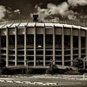 Veterans Stadium 1 Art Print by Jack Paolini