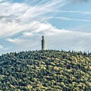 Veterans War Memorial Tower Art Print