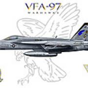 Vfa-97 2014 Art Print