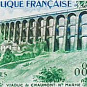 Viaduct Chaumont Haute-marne Art Print