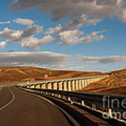 Viaduct In The Sicilian Countryside Art Print