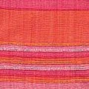 Vibrant Cloth Art Print