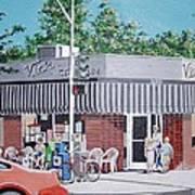Vic's Ice Cream No. 4 Art Print