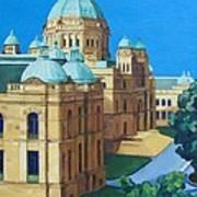 Victoria Bc Parliament Art Print