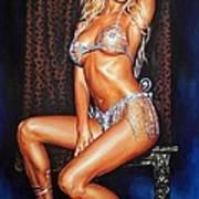 Victoria Silvstedt Art Print
