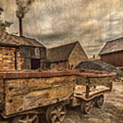 Victorian Colliery Art Print by Adrian Evans