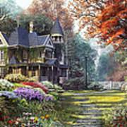 Victorian Garden Art Print