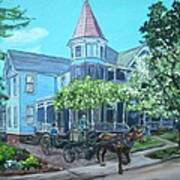 Victorian Greenville Art Print