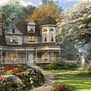 Victorian Home Art Print