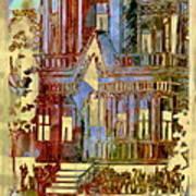 Victorian Home Dream Art Print
