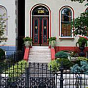 Victorian House Lafayette Sq St Louis Art Print
