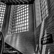 Victorian Jail Staircase V2 Art Print