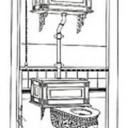 Victorian Potty Art Print