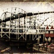 Victorian Roller Coaster Art Print