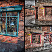Victorian Shops Art Print by Adrian Evans