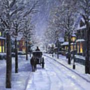 Victorian Snow Print by Alecia Underhill