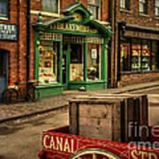 Victorian Town Art Print