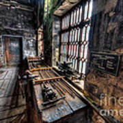 Victorian Workshops Art Print by Adrian Evans