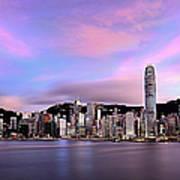 Victoric Harbour, Hong Kong, 2013 Art Print