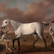 Victorious At Newmarket Art Print