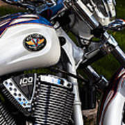 Victory 100 Cubic Inches Art Print