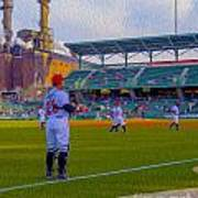 Victory Field Catcher 1 Art Print