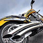 Victory Motorcycle 106 Vertical Art Print