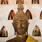 Vientiane Buddha 2 Art Print
