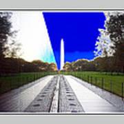 Viet Nam Memorial And Obelisk Art Print