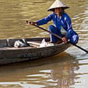 Vietnamese Boatwoman 01 Art Print