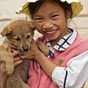 Vietnamese Girl 02 Art Print