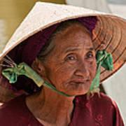 Vietnamese Lady Art Print