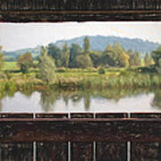 View From A Hide Impressions Art Print