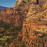 View From Angel's Landing 2 Art Print
