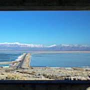 View From Antelope Island Art Print